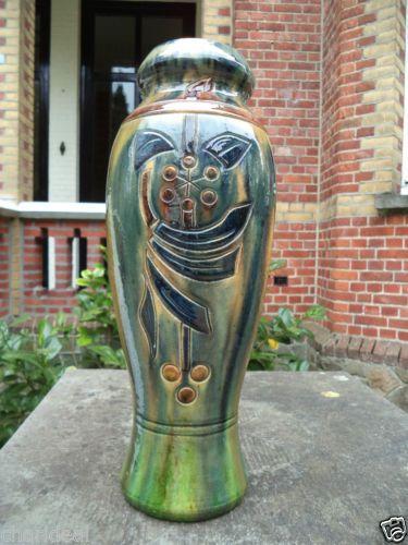 Big vintage ca 1920s art deco nouveau belgium art crafts - Deco vintage belgique ...