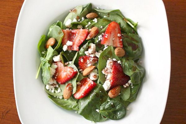 Spinach and Strawberry Salad | Food | Pinterest