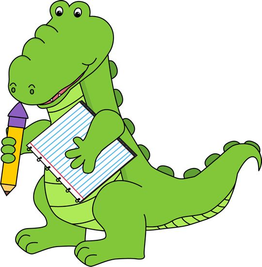 School Goodbye Clipart Free alligator clip art