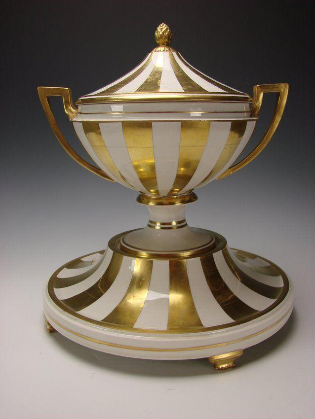 Antique royal vienna imperial porcelain gilt austrian