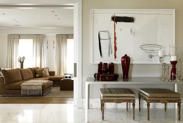 Decoração de Interiores em Apartamento Jardins  Decoradora Marilia