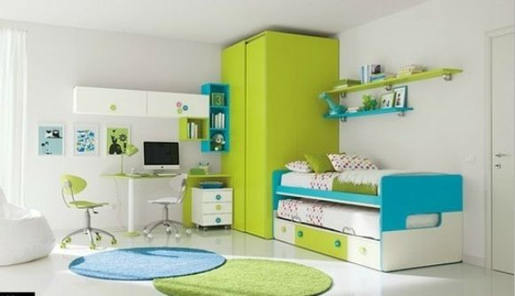 Blue and green girls room bedroom ideas pinterest for Blue and green girls bedroom ideas