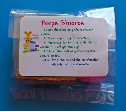 more Peeps!!! Free Printable Labels. Fits perfectly in a snack sized ...