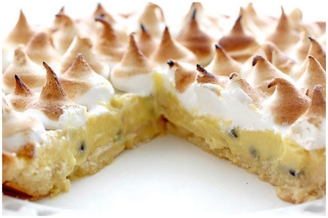 Freeform Lemon Meringue Tarts With Lavender Cardamom Crust Recipes ...