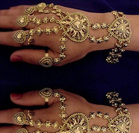 indian hand jewellery jewels pinterest