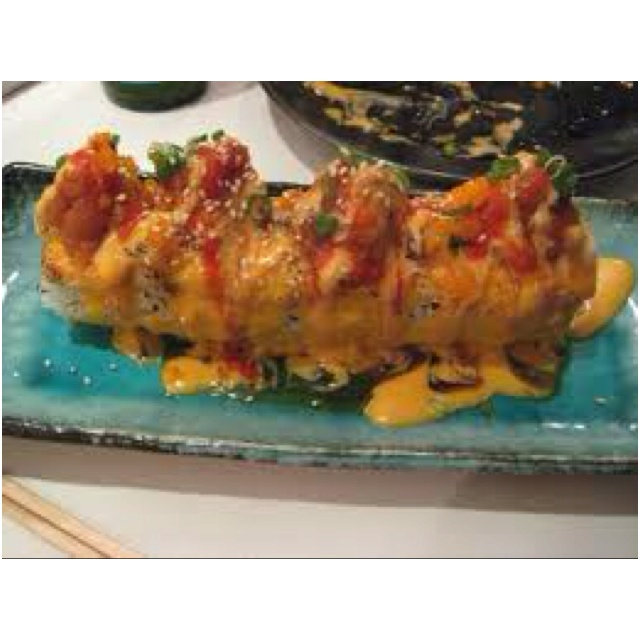 Volcano Roll. My favorite sushi ever | food journey: asian | Pinterest