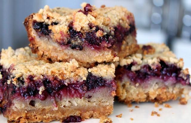 Blackberry Pie Bars | Sinfully Sweet | Pinterest
