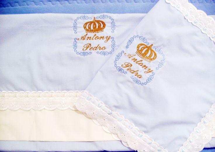 Jogo de lençol para berço www facebook com br adribordbordados