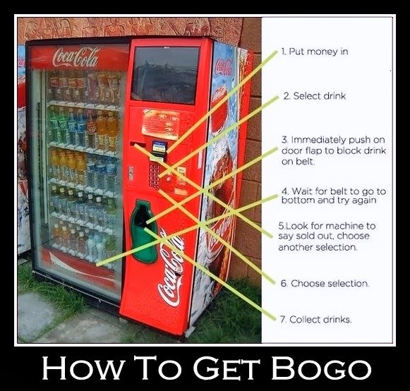 how to money from a vending machine