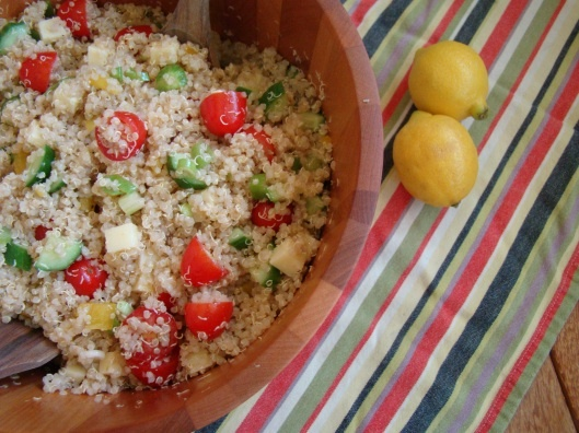 summertime quinoa salad | Party Food | Pinterest