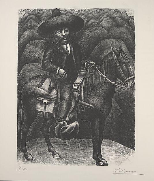 Zapata (lithograph)