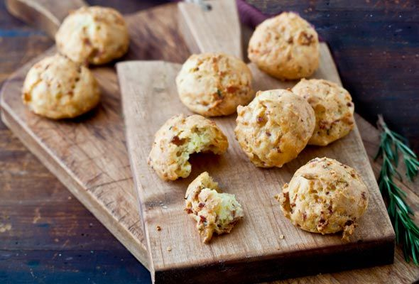 Call Me Puff Daddy - Prosciutto-Parmesan Puffs Recipe | Food - Apps ...