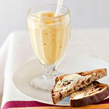 Fruit bread with mango and mint lassi | WW Recipes | Pinterest