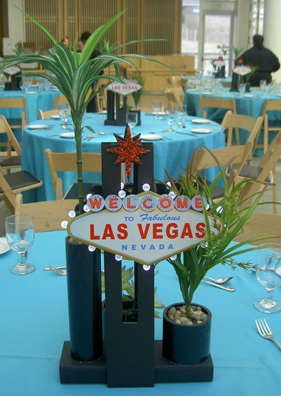 Centerpiece Ideas Las Vegas Themed Party : Las vegas themed centerpiece event wedding ideas pinterest