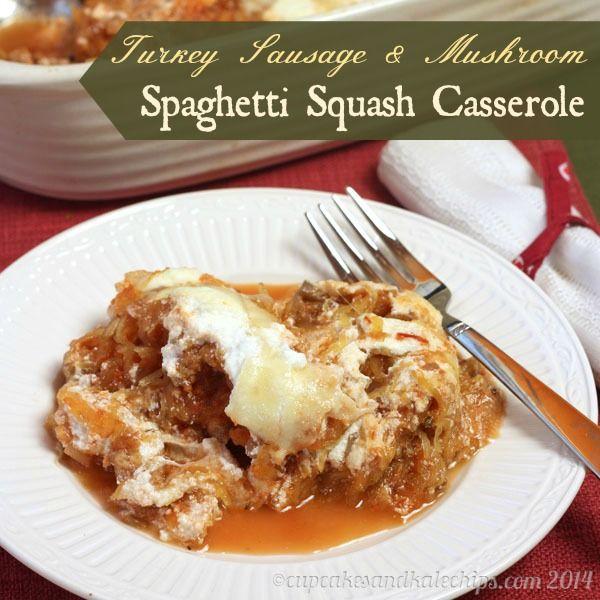Turkey Sausage & Mushroom Spaghetti Squash Casserole - Page 2 of 2 ...