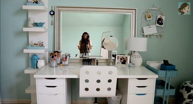Nice simple dressing table look dressing room ideas - Simple dressing table designs ...