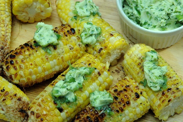 Grilled Jalapeno-Lime Corn on the Cob | Yummy For The Tummy | Pintere ...