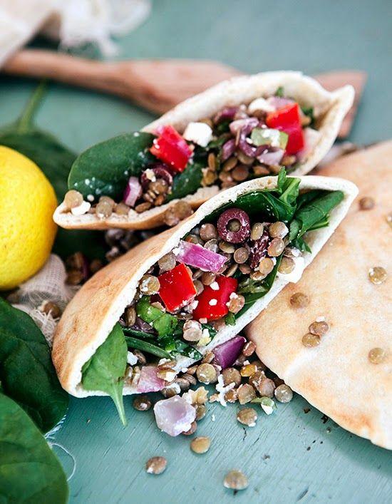 Greek Lentil and Feta Salad