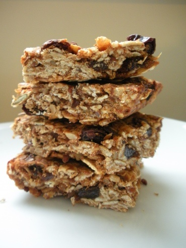 pumpkin granola bars (i'll be using chocolate chips instead of the ...