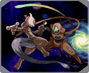 Mewtwo vs deoxys | Pokemon | Pinterest