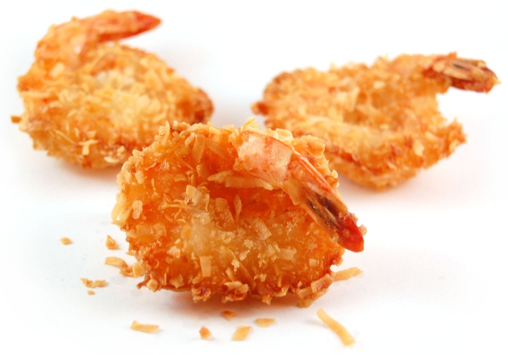 Coconut Shrimp Hors D'Oeuvres | Catering trays | Pinterest