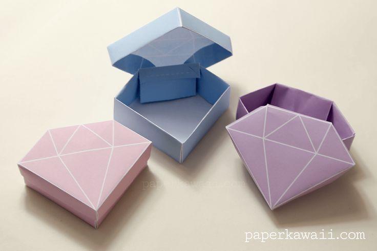 Как сделать алмаз из бумаги технология 3 класс