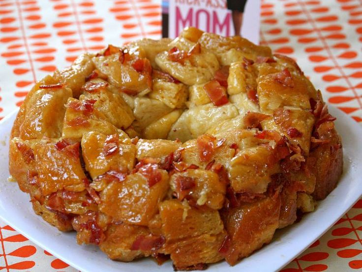 Mother's Day Breakfast in Bed: Maple Bacon Monkey Bread