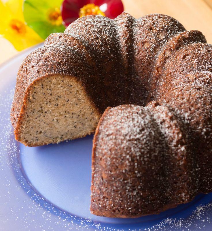 Almond Poppy Seed Pound Cake - use up leftover hamantashen filling