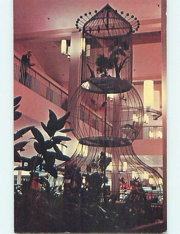 The bird cage at south hills village home to eric who would squawk