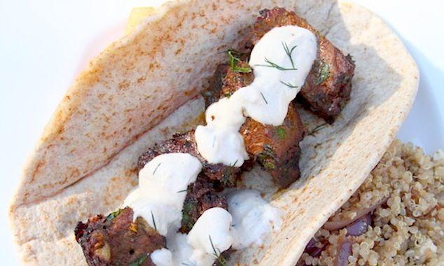 Yogurt Marinated Lamb Kebabs With Tzatziki Recipes — Dishmaps