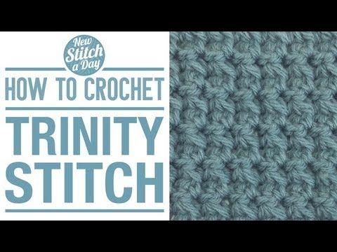 How to Crochet the Trinity Stitch - NewStitchaDay.com