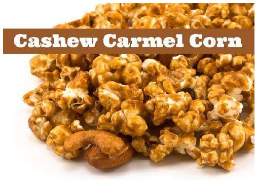Cashew Carmel Corn- | Cindy's Favorites | Pinterest