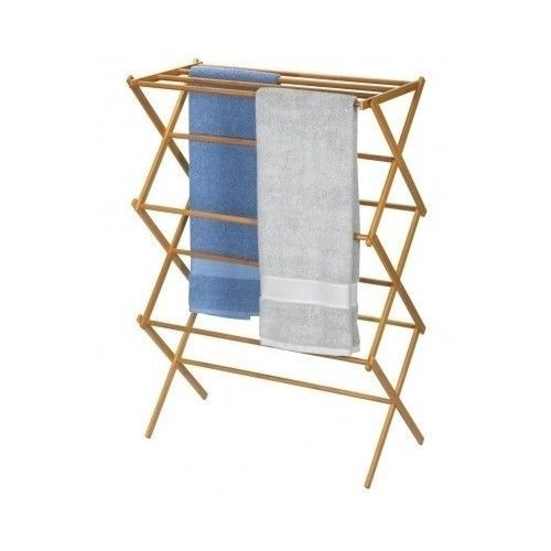 folding clothes drying rack laundry towel indoor outdoor portable cam. Black Bedroom Furniture Sets. Home Design Ideas