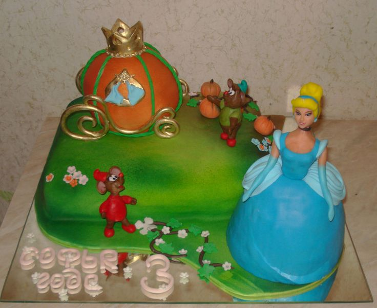 cinderella cake decorating ideas Pinterest