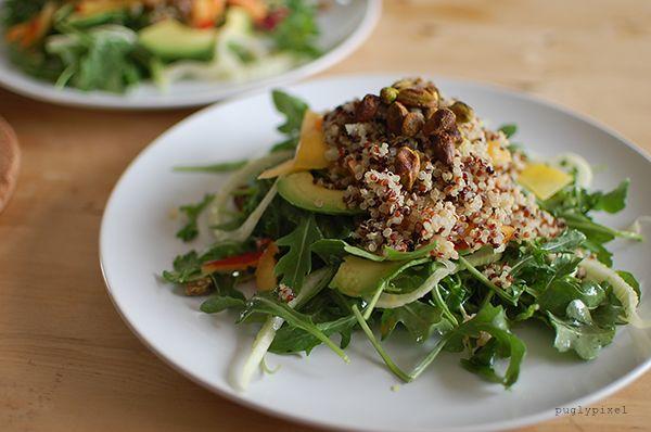 nectarine and fennel salad | Veggie! | Pinterest