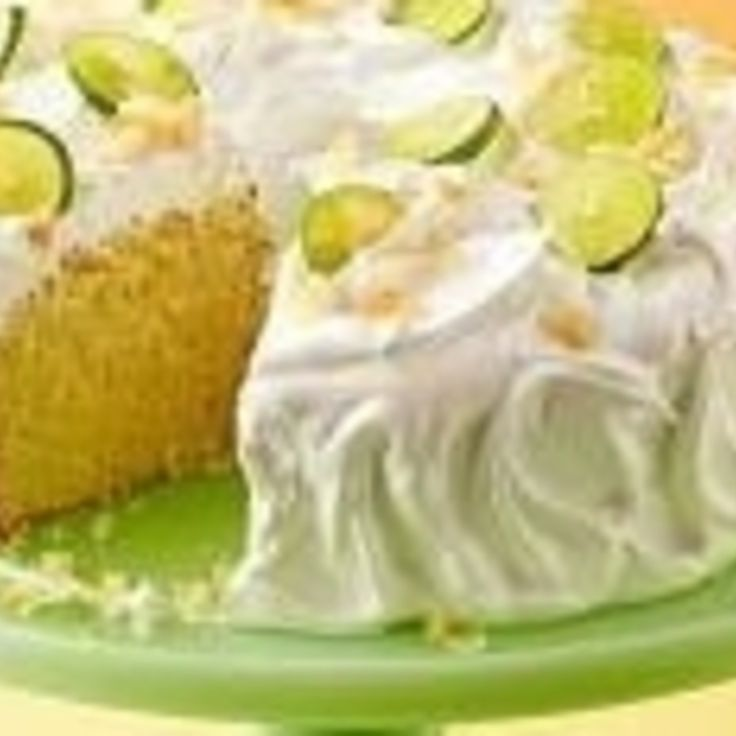 KEY LIME COCONUT CAKE Recipe | Just A Pinch Recipes
