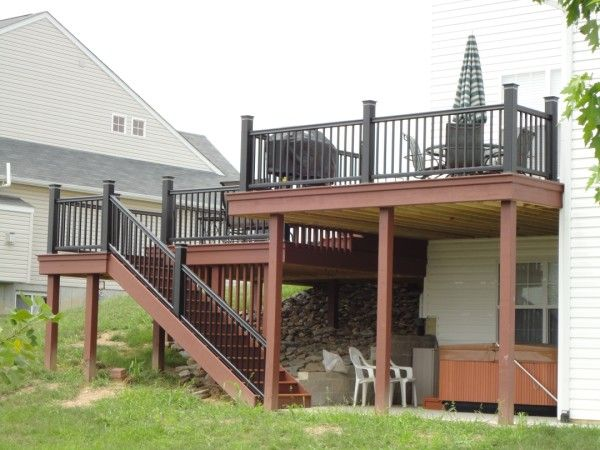 Pin by drew turner on house ideas pinterest for Balcony overhang