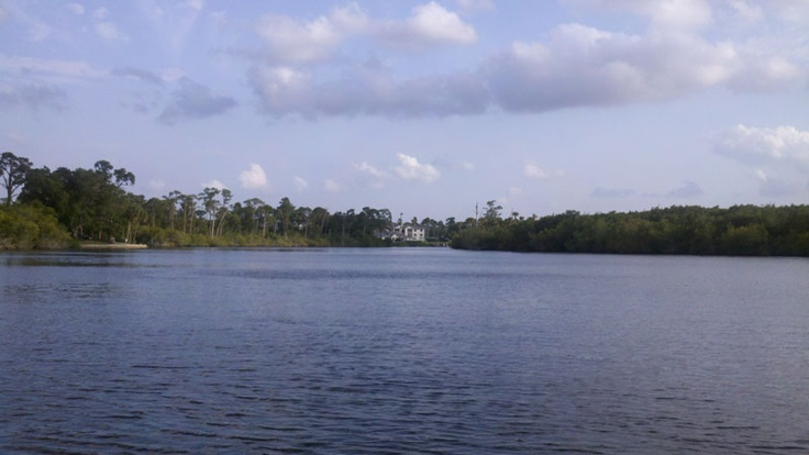 The St. Lucie River  April 13th, 2012 - 6:05 PM  Contributed by a Lets Deal Local Member