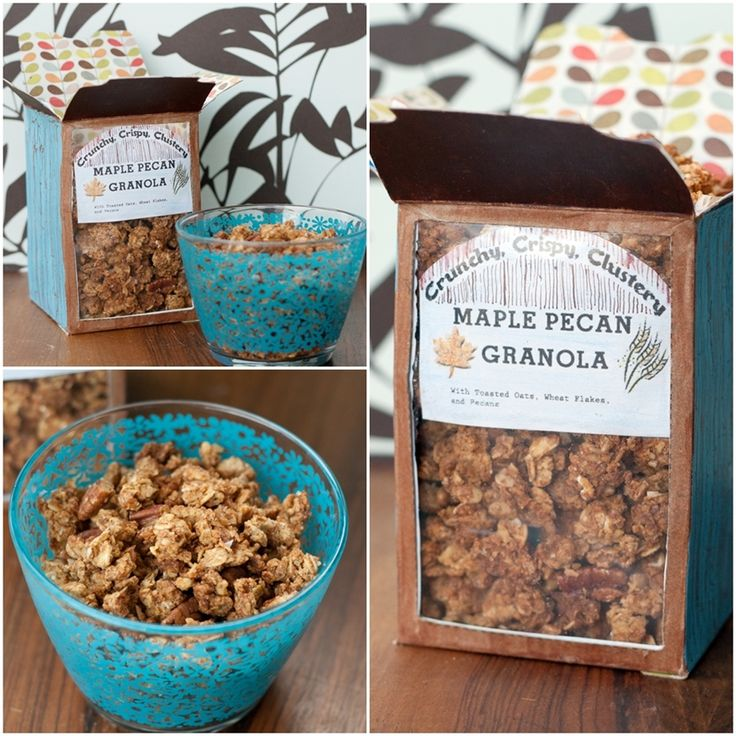 Crispy, crunchy, clustery, maple pecan granola: Intrigued, I have ...