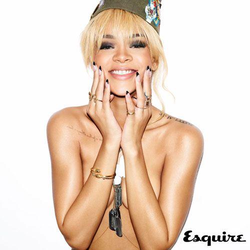 Rihanna loses the Tee