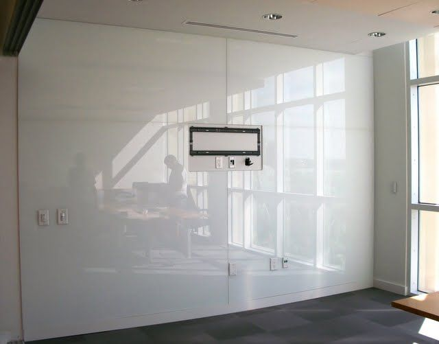 Writable glass wall future house office pinterest for Back painted glass panels
