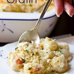 Classic Gnocchi Gratin With Gruyere, Havarti And Crab Meat Recipe ...