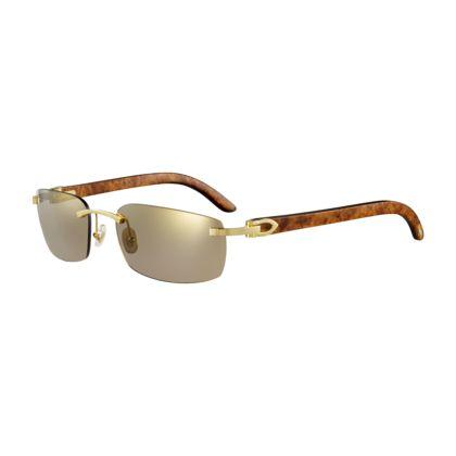 Cartier Rimless Glasses : C Decor rimless sunglasses