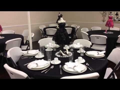 Table Decor for Prayer Breakfast | Party | Pinterest