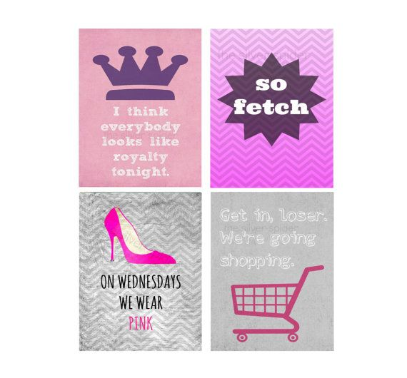mean girls quote print