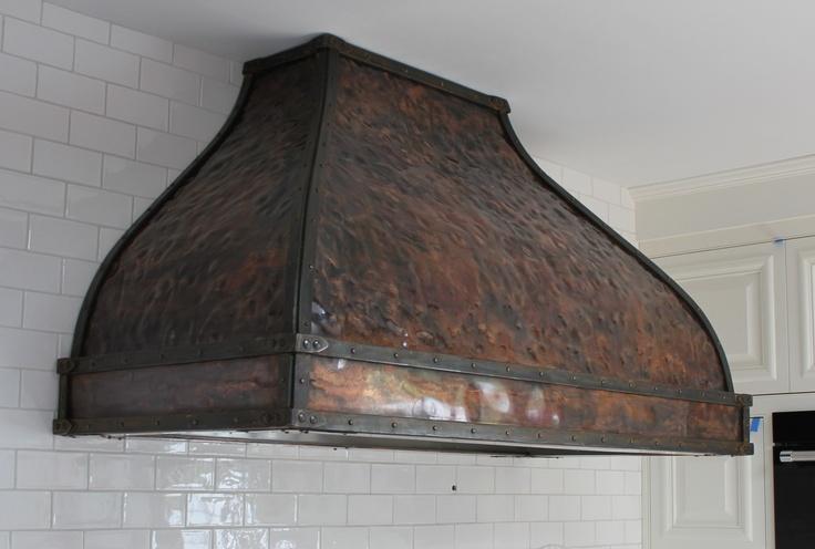 custom copper kitchen range hood products i love pinterest