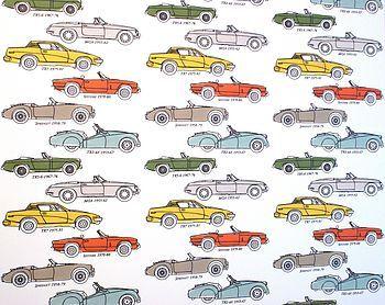 British Classic Car Wallpaper
