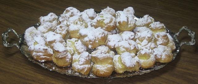Profiteroles - Cream Puffs | Desserts | Pinterest