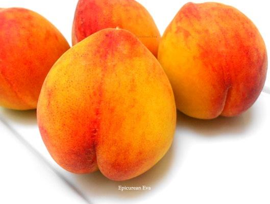 Peaches... Fresh peach and blueberry crisp