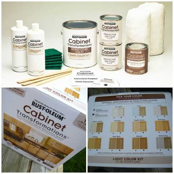 Rust Oleum Kitchen Cabinet Kit For The Home Pinterest